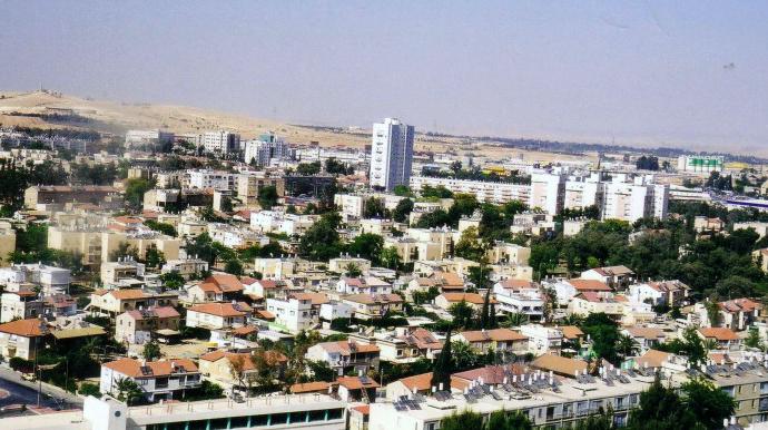 Панорама города Баэр-Шева