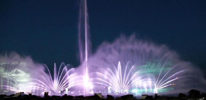 Поющий фонтан в Тверии