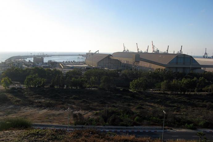 Морской порт Ашдода
