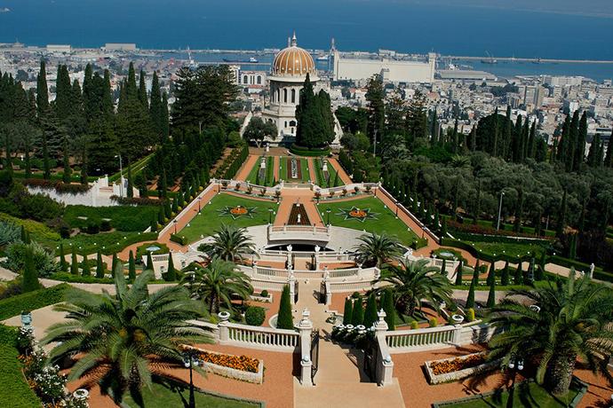 Бахайские сады Хайфы