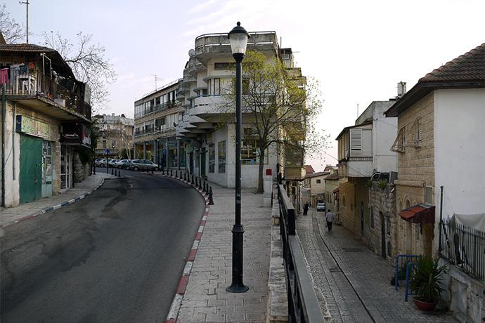 Старый и новый город в Цфате
