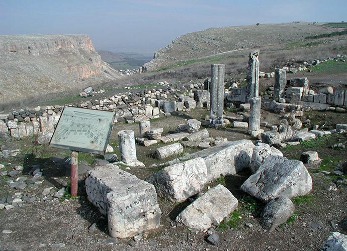 Фундамент синагоги в Хамат-Тверия