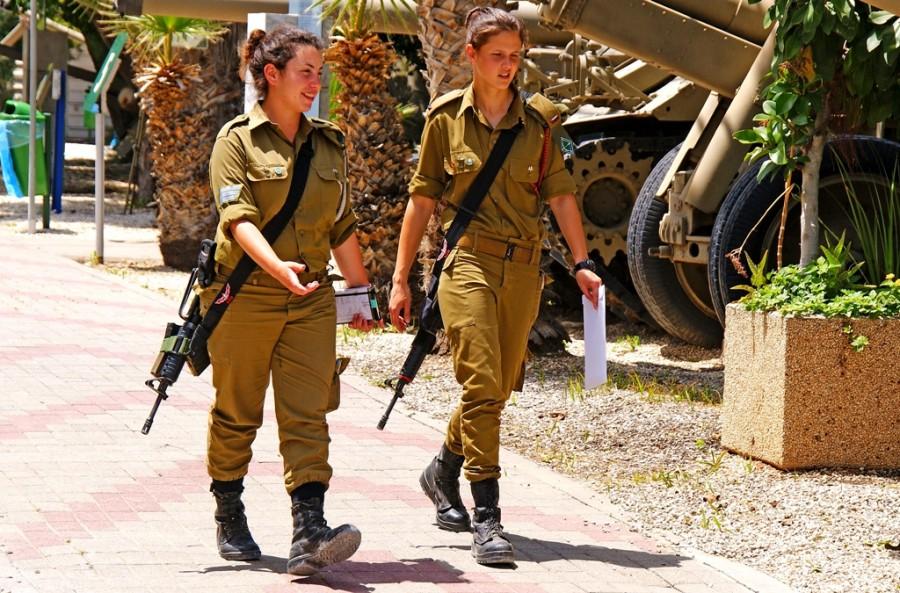 Военные в Израиле